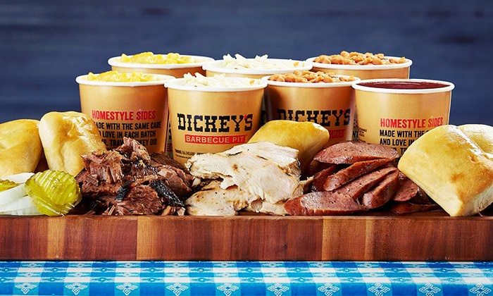 Dickey's Barbecue Pit - Multiple Locations: Two or Four Pulled-Pork Sandwiches at Dickey's Barbecue Pit (Up to 52% Off)