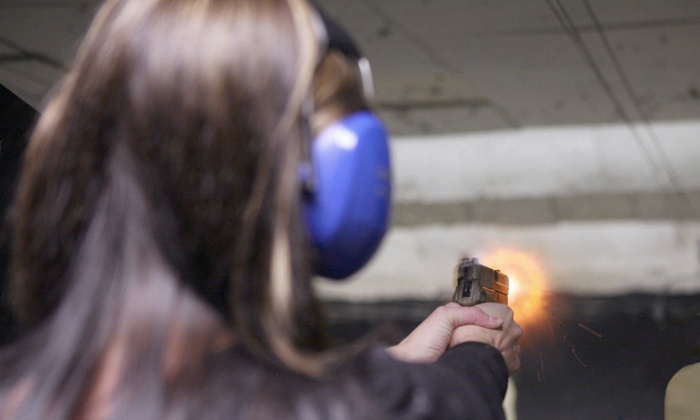 Frog Bones Shooting Center - Riverside Drive: Shooting-Range Package for Two or One Hour of Range Time for Four at Frog Bones Shooting Center (Up to 45% Off)