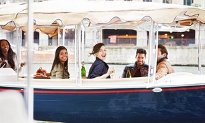Pelican Joe Bay Boat Rentals: Two-Hour Electric-Boat Rental from Pelican Joe Bay Boat Rentals (Up to 54% Off). Two Options Available.