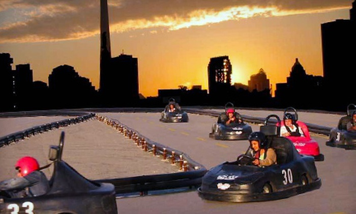 Go-Karts at Polson Pier - Polson Pier: $23 for Two 20-Minute Go-Kart Rides at Go-Karts at Polson Pier ($46 Value)