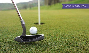 The Highlands Golf Club: 18 Holes of Golf for One with Cart Rental at The Highlands Golf Club (Up to 49% Off). Two Options Available.