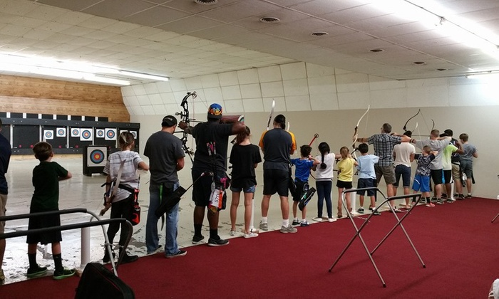 X10 Archery - Westwood: $35 for 90 Minutes of Archery Range Time with Equipment and Orientation for Two — X10 Archery ($70 Value)