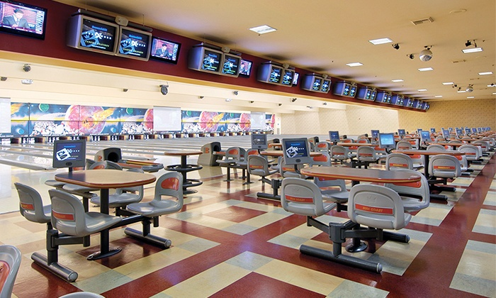 Suncoast Bowling Center - Suncoast Center: Three Games of Bowling for Two or Four Including Pizza, Soda, and Shoes at Suncoast Center (Up to 34% Off)