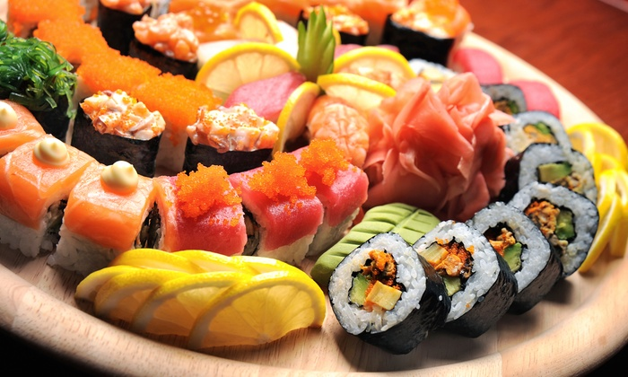 Sushi at the Lake - One Norman Square Apartments: Sushi and Japanese Food at Sushi @ the Lake (38%  Off). Two Options Available.