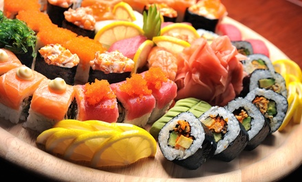 Sushi and Japanese Food at Sushi @ the Lake (38%  Off). Two Options Available.