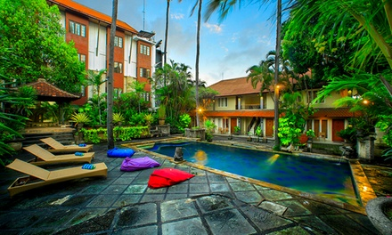 Bali, Legian: 5- or 7-Night Escape for Two People with Breakfast at Restu Bali Hotel Legian