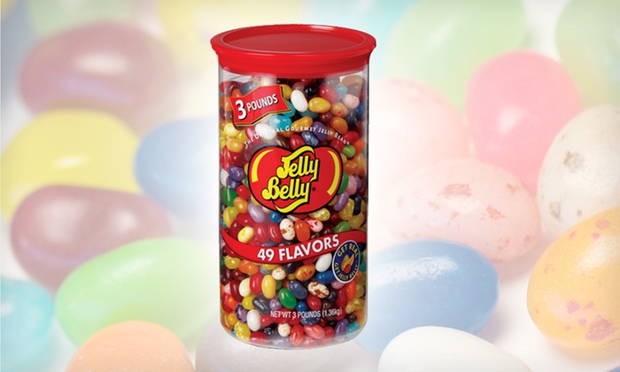 Assorted Jelly Belly Jellybeans: $18.99 for a 3-Lb. Container of Assorted Jelly Belly Jellybeans ($25.99 List Price). Free Shipping.