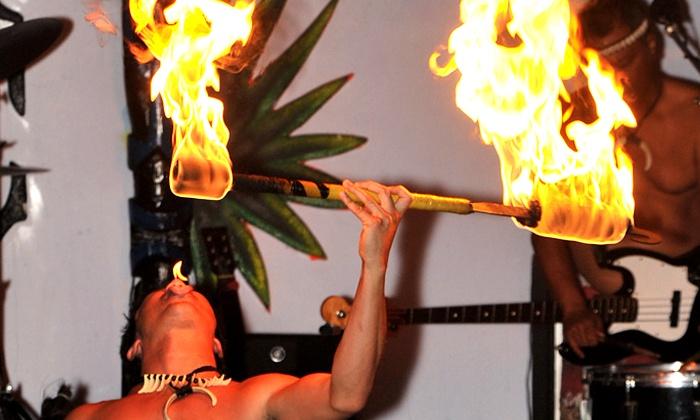 My Ohana Luau - Hawaiian Inn Hotel: Polynesian Dinner Show for Two or Four at My Ohana Luau (Up to 45% Off)