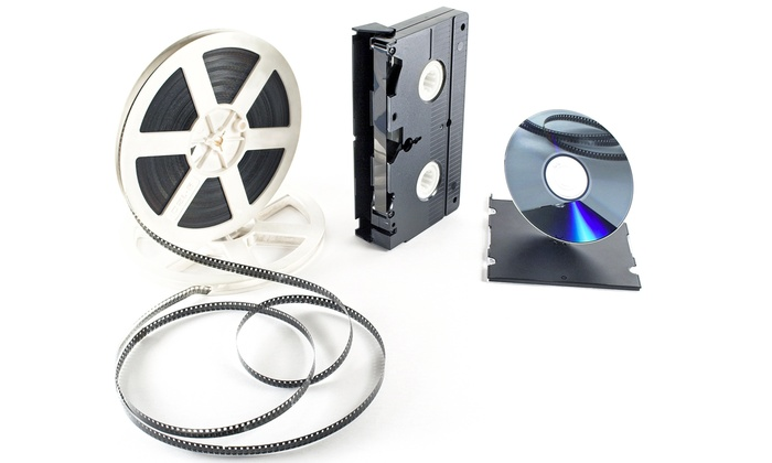 Video City Productions - Center City: Video-to-DVD Transfer for One or Three Videos at Video City Productions (Up to 57% Off)