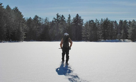 Snowshoeing, Starlight Snowshoeing, or Shelter Building for Two or Four at Luna Adventures (Up to 51% Off)
