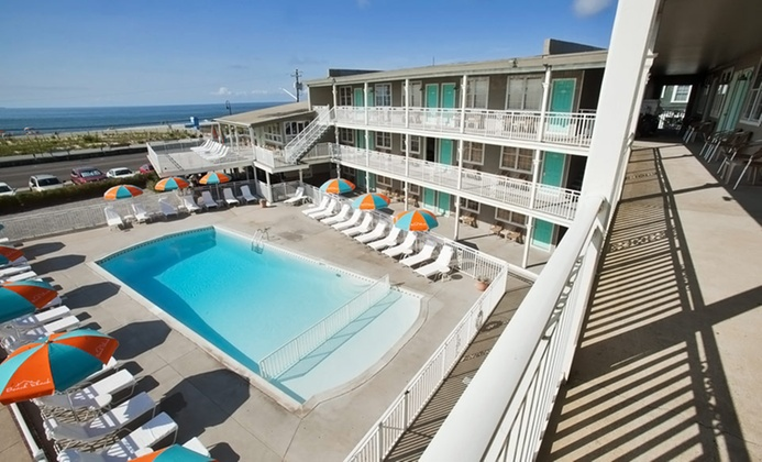 Laid-Back Cape May Hotel with Iconic Beach Bar