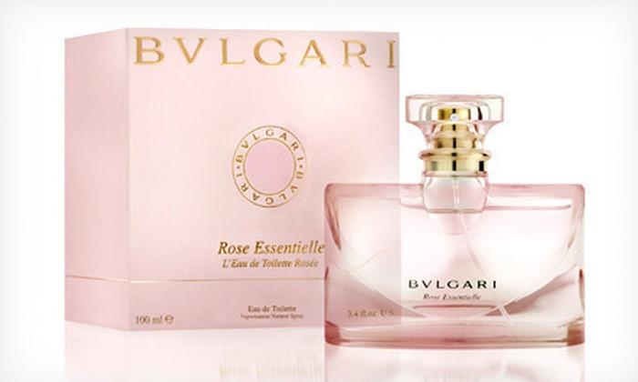 Bvlgari Women's Fragrance: $34 for a 3.4-Oz. Bottle of Bvlgari Rose Essentielle Eau de Toilette ($99 list price)