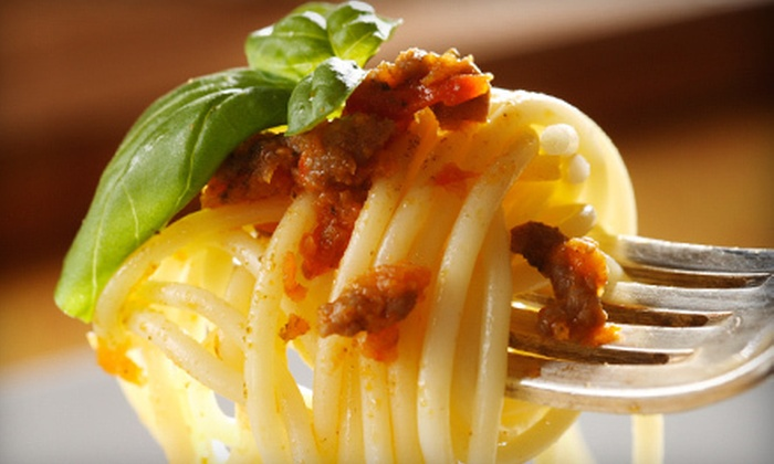 Spaghetti Works - Downtown Des Moines: $15 for $30 Worth of Pasta and Italian Cuisine at Spaghetti Works