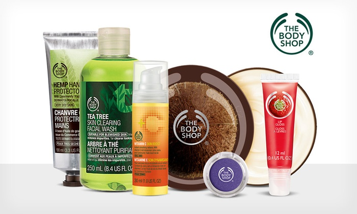 The Body Shop - Abilene, TX: $10 for $20 Worth of Natural Skincare, Makeup, Hair, and Body Products from The Body Shop