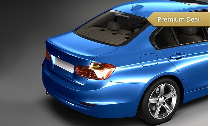 Butinar Car Design - Butinar Car Design: Tönung von 3 Scheiben für PKW oder SUV in Schwarz, Mittel oder Hell bei Butinar Car Design für 109,90 € (50% sparen*)