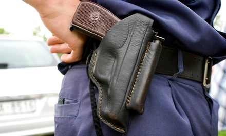 $28 for a Four-Hour Concealed-Firearms-Permit Class at Center-Mass Firearms Training ($50 Value)
