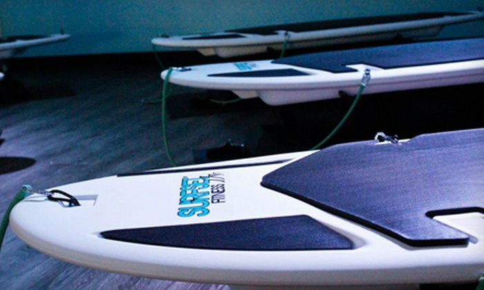 Surfset Fitness - Lexington-Fayette: One or Six Drop-in Surfing Fitness Classes or One Month Unlimited Classes at Surfset Fitness (Up to 63% Off)