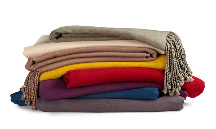 Bamboo Luxury Throws: $39.99 for a Bamboo Luxury Throw ($140 List Price). Eight Colors Available. Free Shipping and Free Returns.