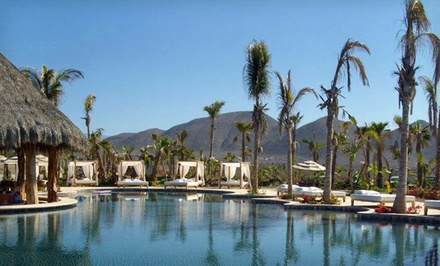 Groupon Deal: 3-, 4-, 5-, or 7-Night Stay for Up to Five at Cerritos Surf Colony in Baja California Sur, Mexico