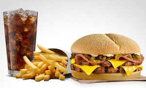 BURGER KING®: $81 en vez de $135 por combo Doble Patagónico regular en BURGER KING®