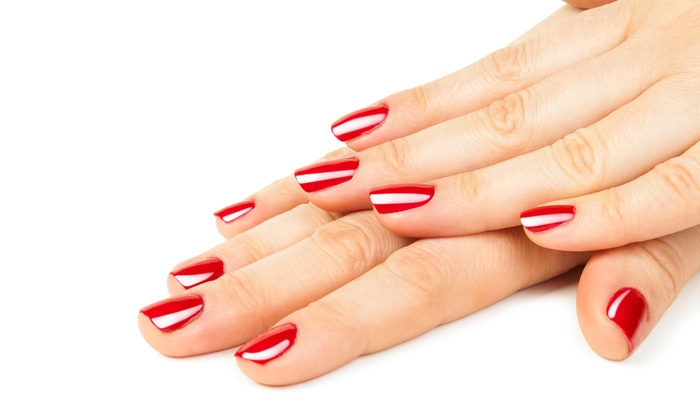 Nails by Tiara - Midtown: $26 for Nail Art or Paraffin Treatment with Gel or Shellac Manicure ($60 Value) at Nails by Tiara ($60 Value)