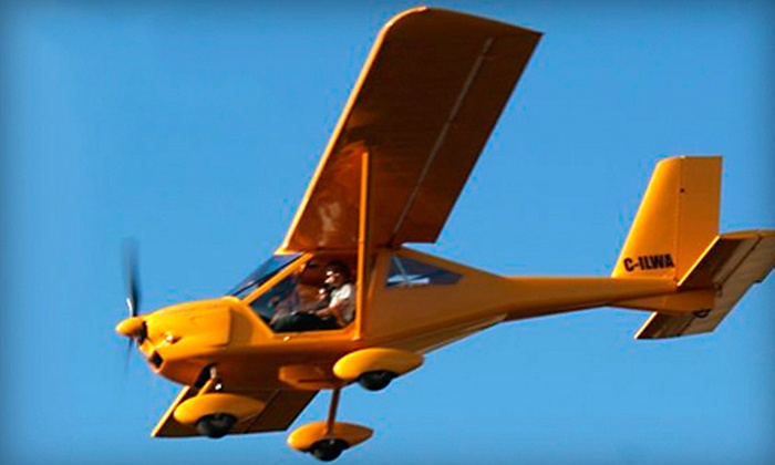 King George Aviation Flight School - Newton: C$27 for a 15-Minute Discovery Flight for One at King George Aviation Flight School in Surrey (a C$54 value)