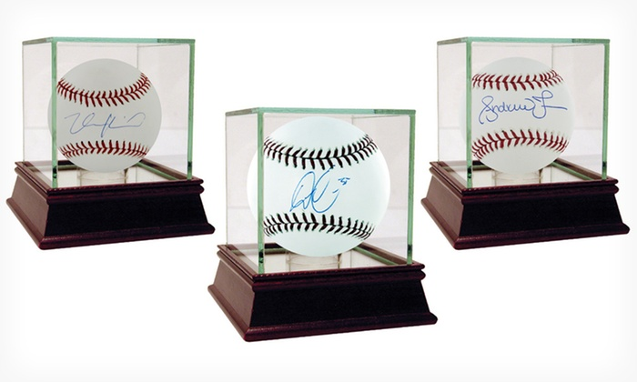 MLB Autographed Baseballs: MLB Autographed Baseballs (Up to 63% Off). Current and Former Players Available. Free Shipping and Returns.