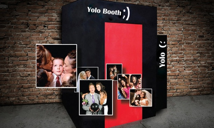 YoloBooth - Green Bay: Photo-Booth Rental with Props and Prints from YoloBooth (Up to 58% Off)