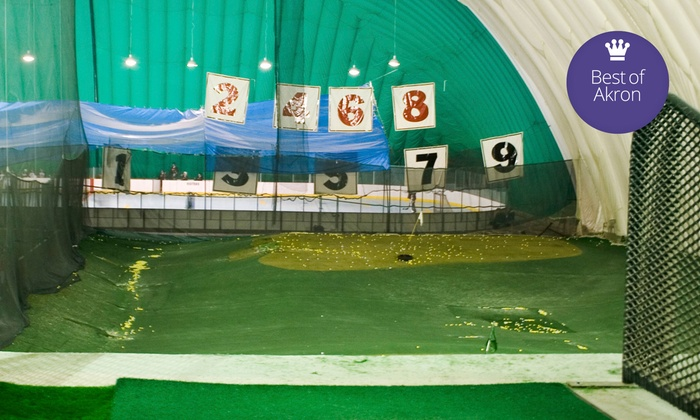The Golf Dome - Chagrin Falls: Indoor Driving Range, Golf Simulator, or Access to Both at The Golf Dome (Up to 51% Off)