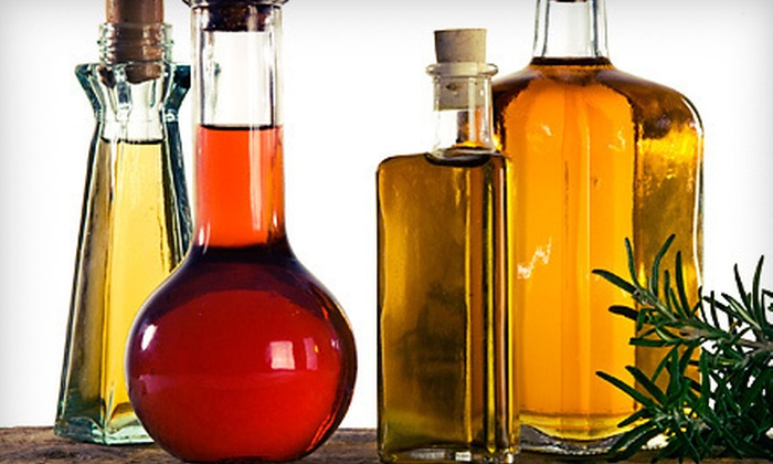 Vom Fass Des Moines - Vom Fass Shops at Roosevelt: $12 for $25 Worth of Oils, Vinegars, and Spirits at Vom Fass