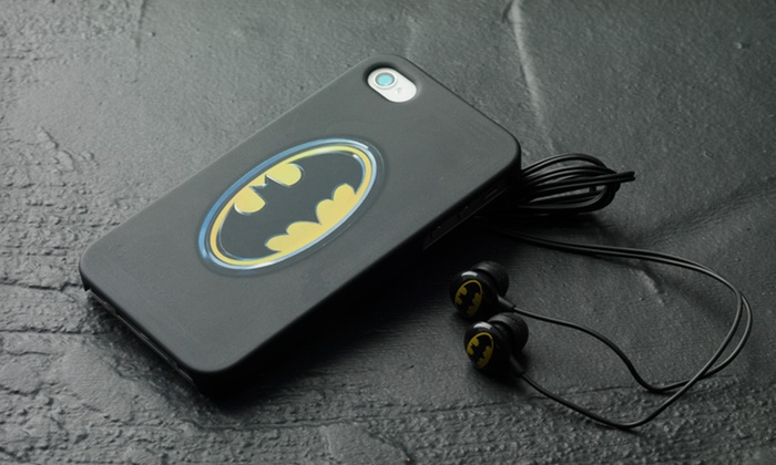 iHip iPhone Case and Headphones: $12 for an iHip Batman or Superman iPhone Case and Headphones Bundle ($29.99 List Price). Free Shipping.