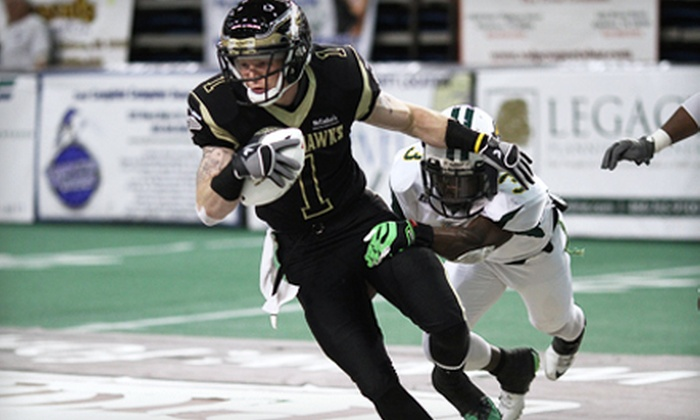 Lehigh Valley Steelhawks - Stabler Arena: Lehigh Valley Steelhawks Indoor Football Game for Two or Four at Stabler Arena on May 18 or 25 at 7 p.m. (Half Off)