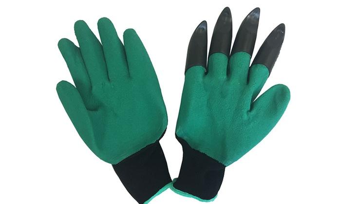 60 Off on Garden Genie Gardening Gloves Groupon Goods