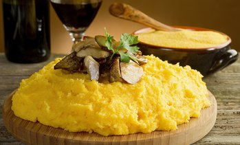 Polenta All you can eat e vino