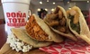 Up to 35% Off Mexican Food and Drinks at Doña Tota Gorditas