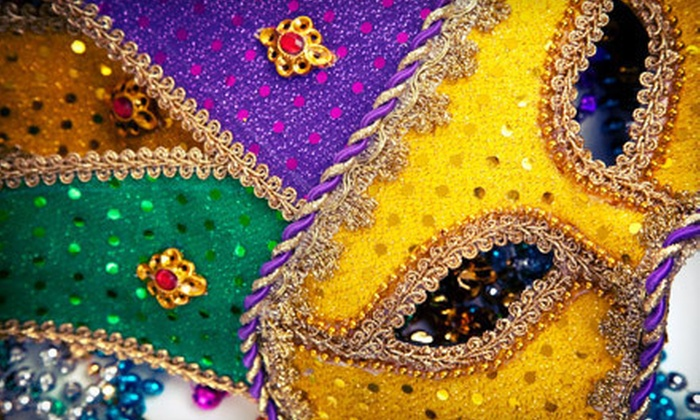 The Village Project - West Bay Conference Center: 7th Annual Mardi Gras San Francisco Style Party for One or Two on February 12 from The Village Project (Up to Half Off)