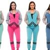 Women's Fleece Striped Hoodie Bundle (5-Pack)