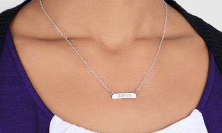 $5 for a Personalized Name Necklace from Monogram Online ($70 Value)
