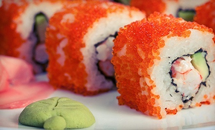 Japanese Food at Mikado (Up to 43% Off). Two Options Available.