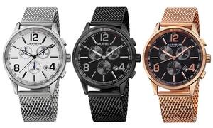 Akribos XXIV Chronograph Watches