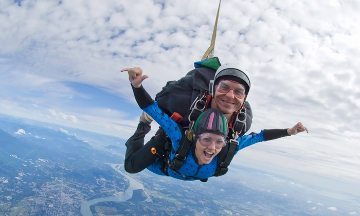 Crimson Skydiving: $149 for Tandem Skydiving Jump from Crimson Skydiving ($299.99 Value)