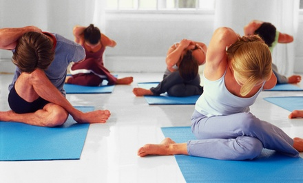 $30 for One Month of Unlimited Hot Yoga and Power-Yoga Classes at Red Dragon Yoga (Up to $175 Value)