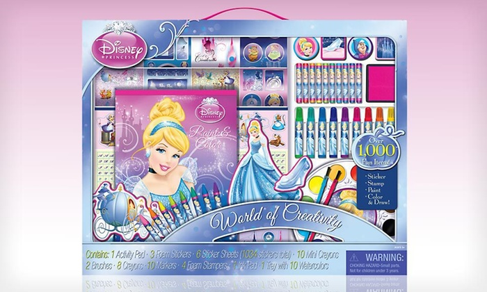 Disney Princess Paint & Color Art Kit: $19 for Disney Princess Paint and Color Art Kit ($22 List Price). Free Shipping and Free Returns.