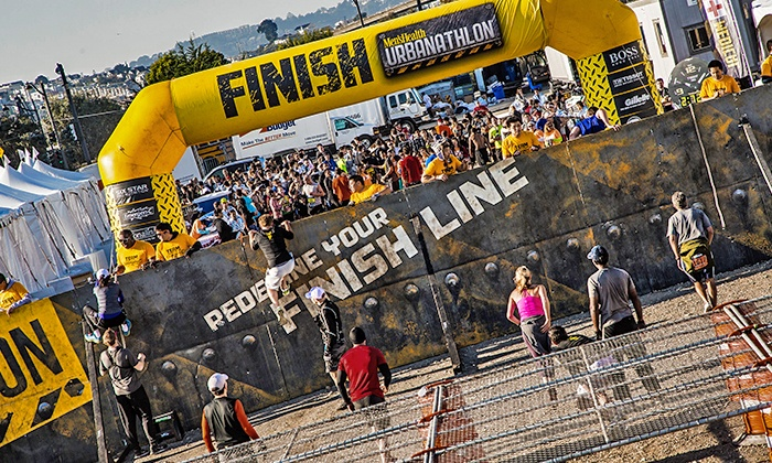 Mens Health Urbanathlon - NYC: One or Two Entries to Men's Health Urbanathlon's Classic or Sprint Race on Saturday, December 5 (Up to 41% Off)