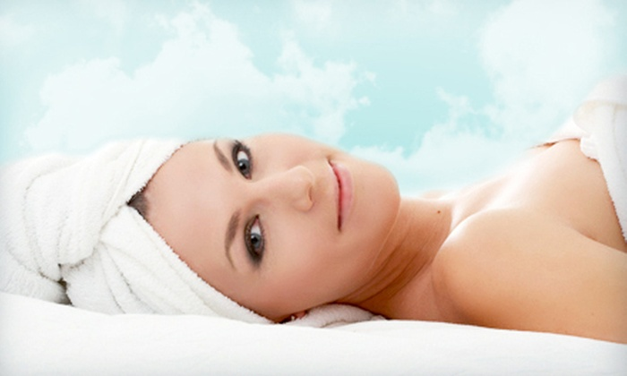 Isa Beauty - Flushing: Deep-Tissue or Aromatherapy Massage, G.M. Collin Algomask Facial, or Both at Isa Beauty in Flushing (Up to 64% Off)
