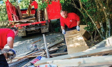 $76 for Three Cubic Yards of Junk Removal from Junk King of Colorado Springs ($178 Value)
