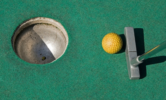 Choice Tee - Spring: 19-Hole Round of Mini Golf for Two, Four, or Six with Take-Home Novelty Golf Balls at Choice Tee (Up to 54% Off)