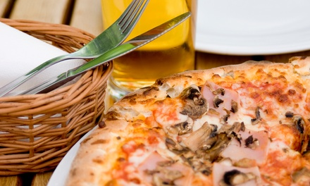 Prix Fixe Dinner with Beer Pairings or a Large Pizza with Beers for Two at Pies and Pints (Up to 47% Off)