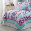 Ashley 5- or 6-Piece Comforter Set with Wall Decals