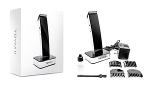 trym ii hair trimmer groupon goods. Black Bedroom Furniture Sets. Home Design Ideas